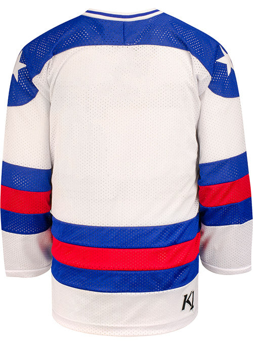 USA Hockey Miracle on Ice 1980 Replica Home Jersey