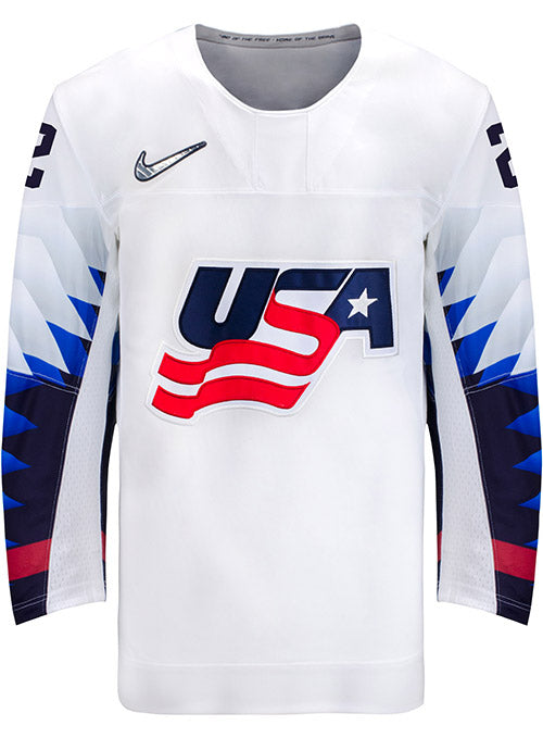 Nike USA Hockey Lee Stecklein Home Jersey