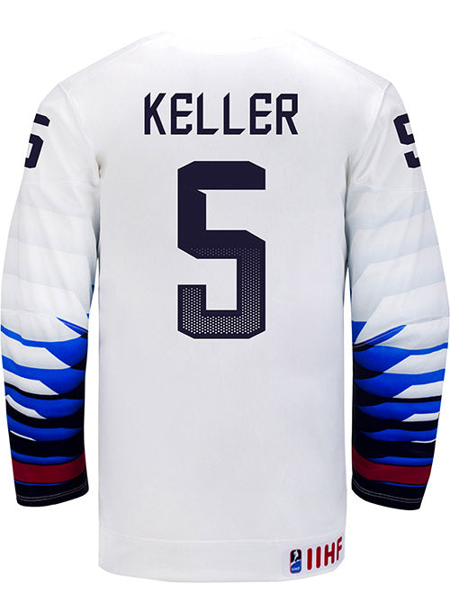 Nike USA Hockey Megan Keller Home Jersey