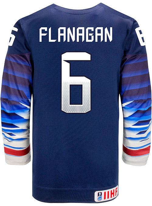 Nike USA Hockey Kali Flanagan Away Jersey