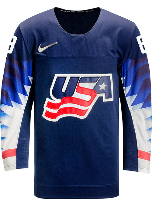 Nike USA Hockey Emily Matheson Away Jersey