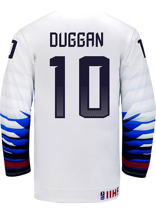 Nike USA Hockey Meghan Duggan Home Jersey