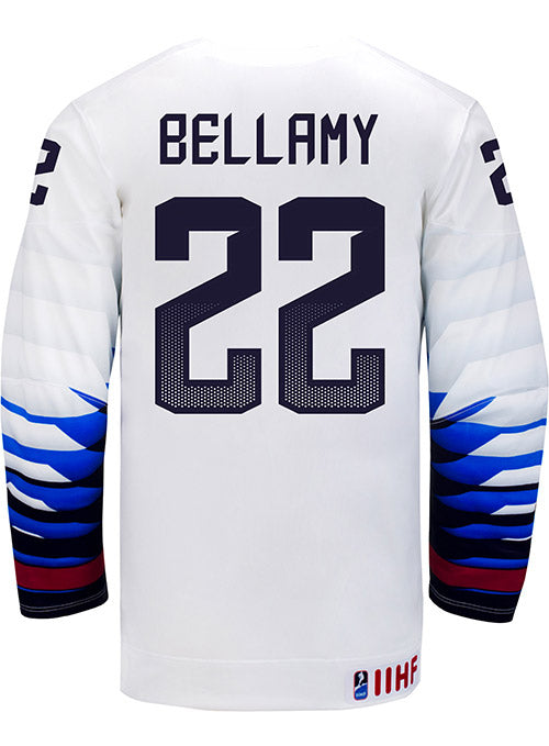 Nike USA Hockey Kacey Bellamy Home Jersey