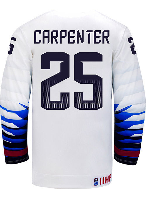 Nike USA Hockey Alex Carpenter Home Jersey