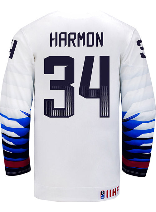 Nike USA Hockey Savannah Harmon Home Jersey