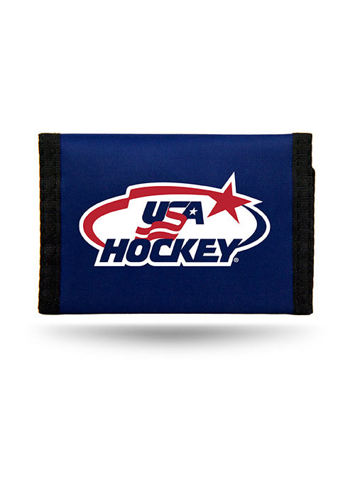 USA Hockey Trifold Wallet