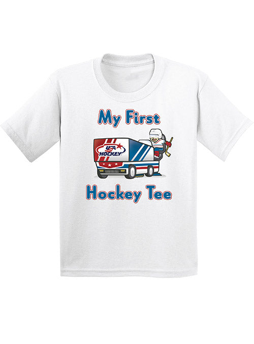 Infant USA Hockey My First Hockey T-Shirt