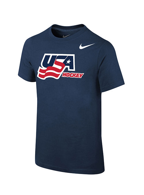 Youth Nike USA Hockey Secondary Logo T-Shirt