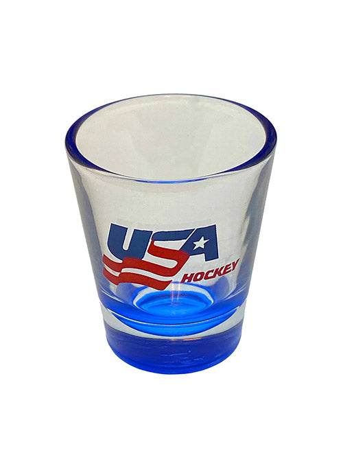 USA Hockey Shot Glass