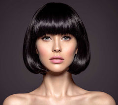 Minimal Bridal Hair with Short Bob
