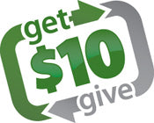 Give $10 and Get $10