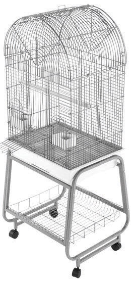 A&e Cage Company - Open Dome Top Cage With Removable Stand