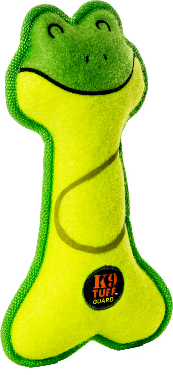 Charming Pet Products-Lil' Racquets Frog Dog Toy