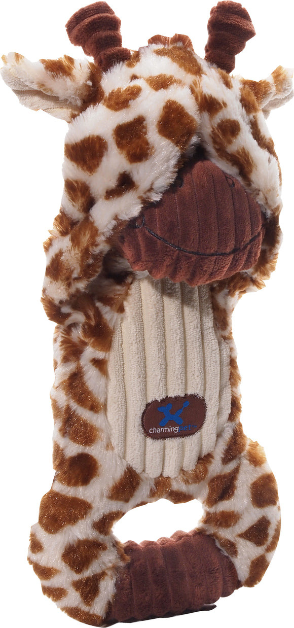 Charming Pet Products-Peek-a-boo Giraffe Dog Toy
