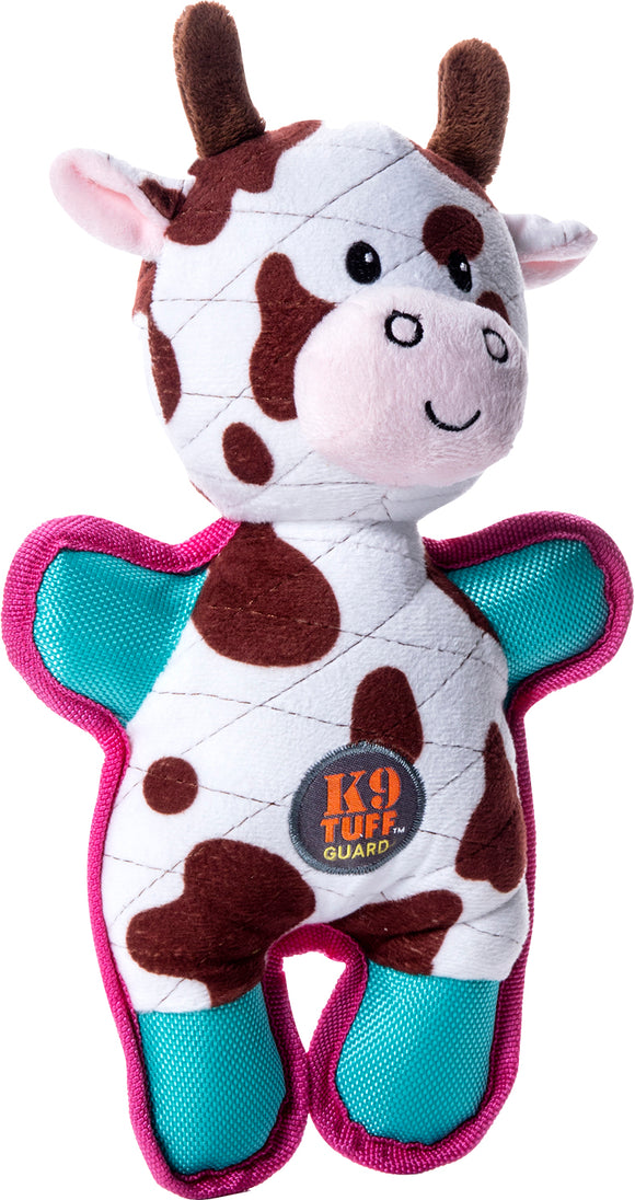 Charming Pet Products-Tuffins Cow Dog Toy