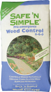 Kent Nutrition Group/bsf - Safe 'n Simple Pre-emergence Weed Control 9-0-0