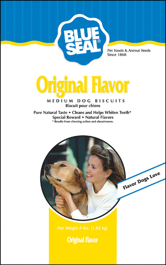 Kent Nutrition Group-bsf - Blue Seal Dog Biscuits Medium