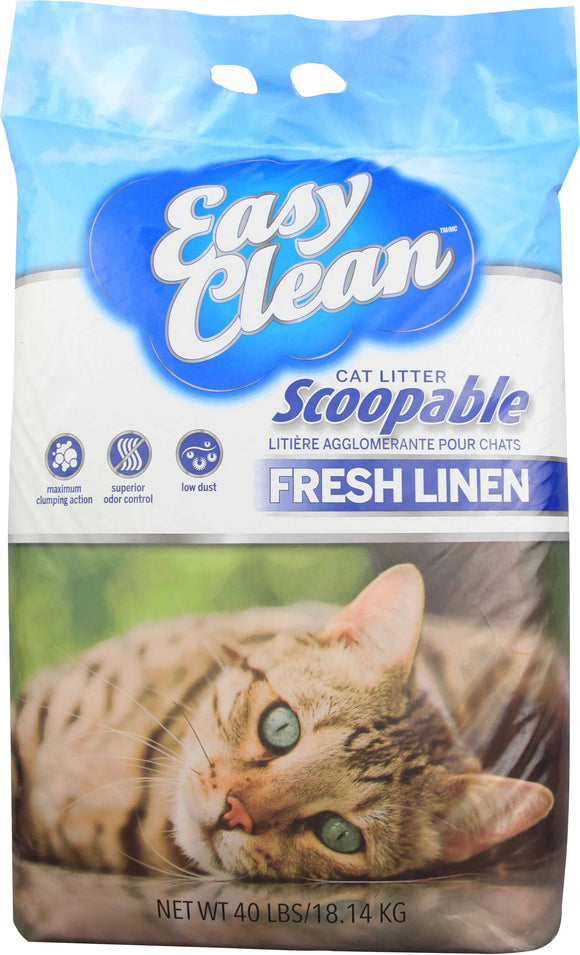 Pestell Pet - Cat - Scoopable Clay Cat Litter          New Item   0304