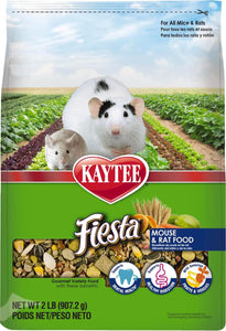 Kaytee Products Inc - Fiesta Max Mouse/rat Food