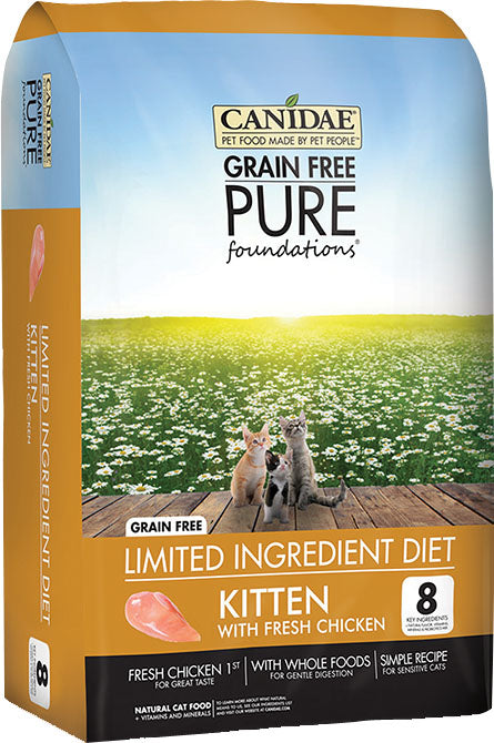 Canidae - Pure - Canidae Pure Foundations Kitten Formula Dry Food