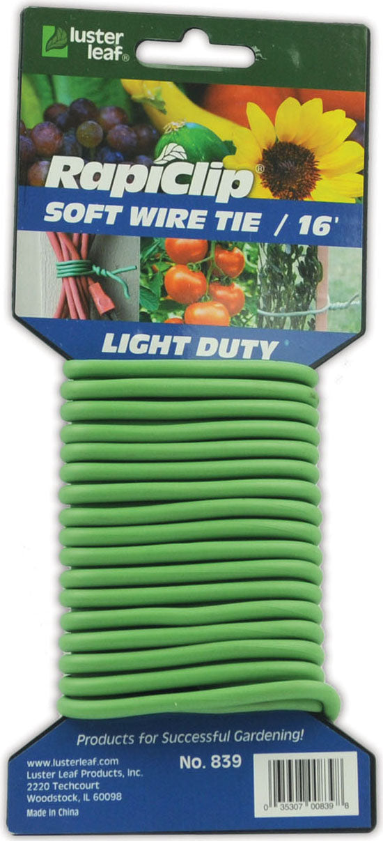Luster Leaf - Light Duty Soft Wire Tie