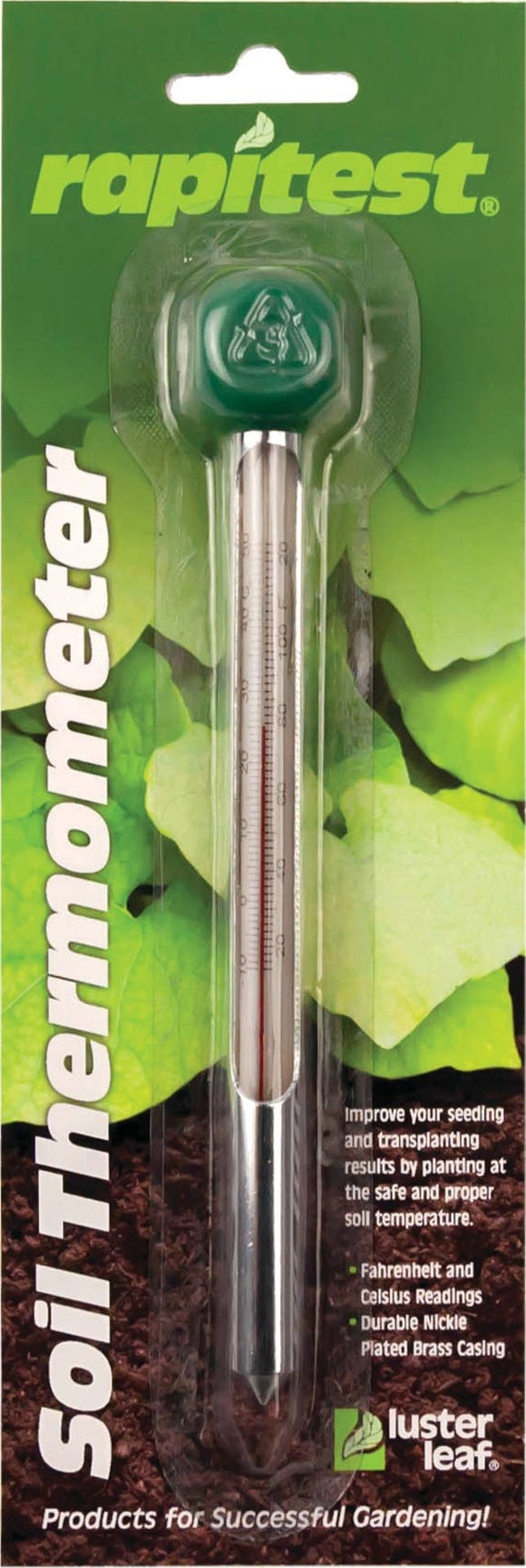 Luster Leaf - Soil Thermometer °f & °c