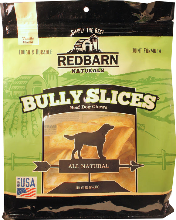 Redbarn Pet Products Inc - Bully Slices Beef Dog Chews Joint Formula