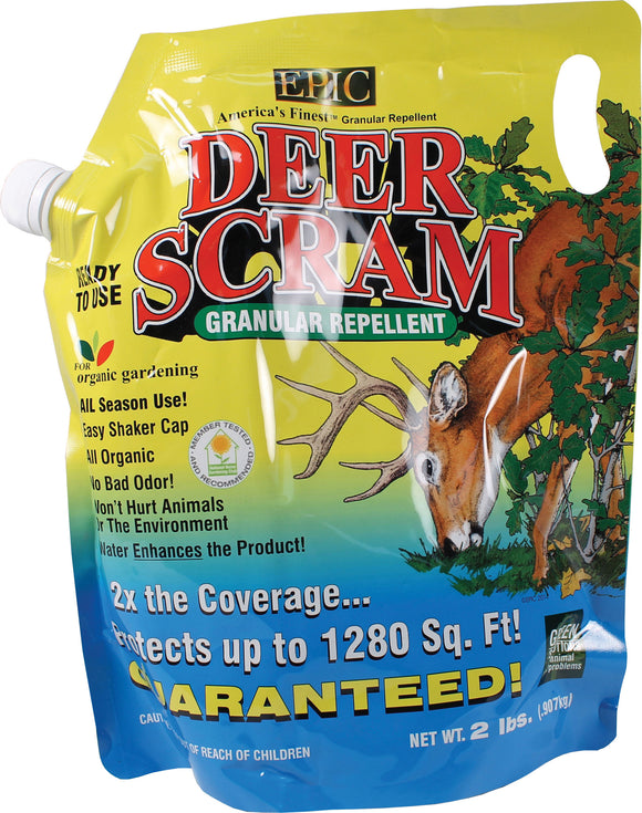 Enviro Protection Ind - Deer Scram Ready To Use Granular Repellent