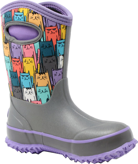 Perfect Storm - Kid Cloud High Cats Boot