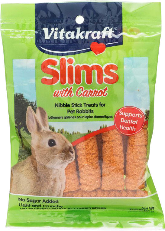Vitakraft Pet Prod Co Inc - Slims With Carrot For Rabbit