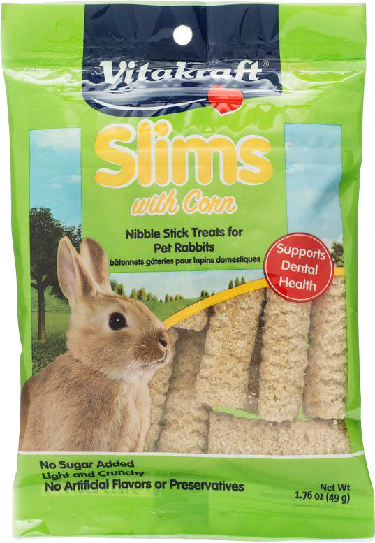 Vitakraft Pet Prod Co Inc - Corn Slims - Rabbit