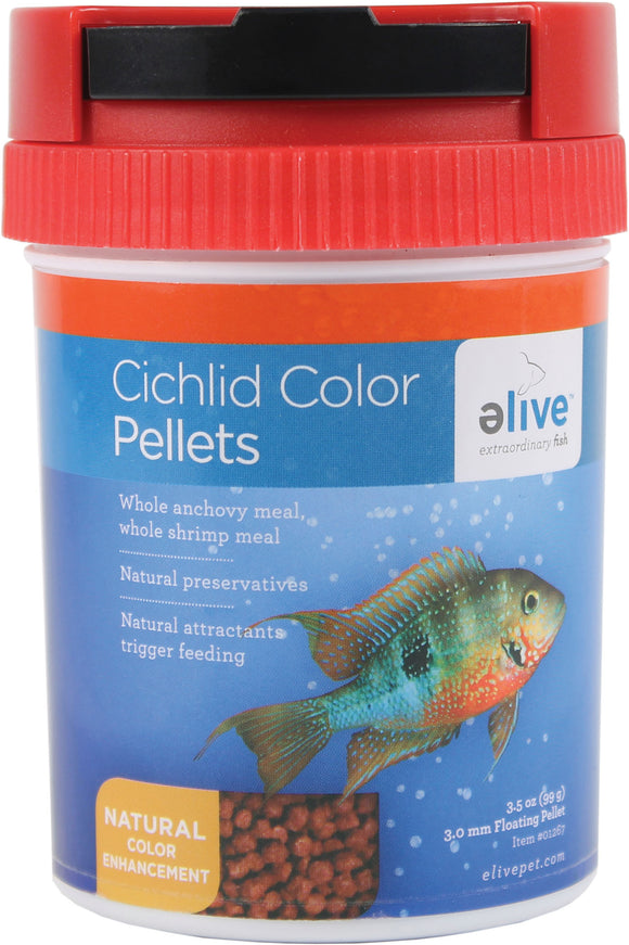 Elive Llc. - Cichlid Color Pellets
