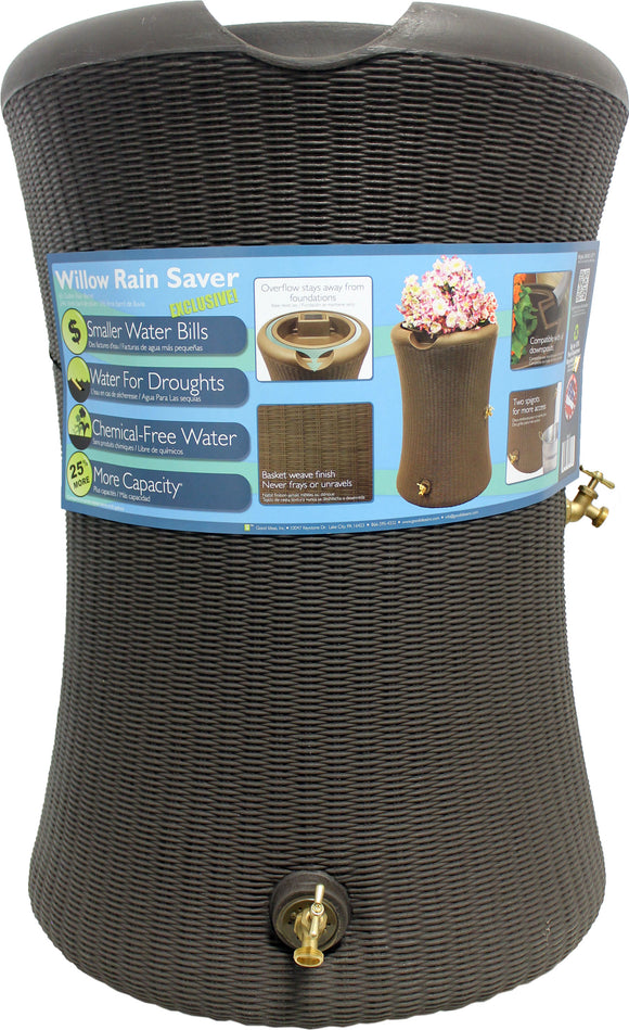 Good Ideas Inc - Impressions Willow Rain Barrel