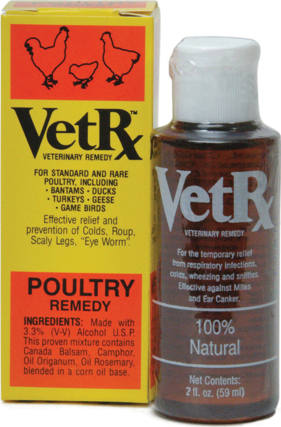Goodwinol Products Corp - Vetrx Poultry Remedy