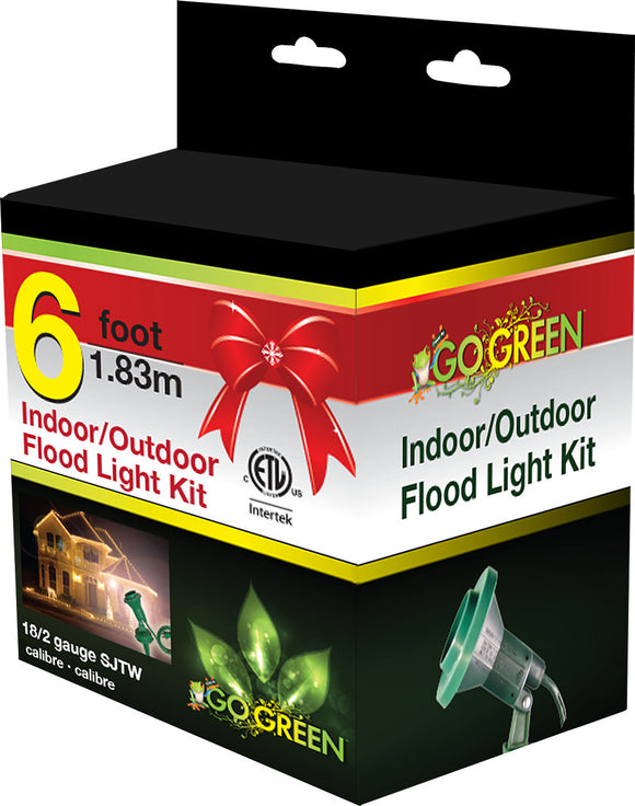 Gogreen Power Inc. - Indoor/outdoor Floodlight Holder Kit