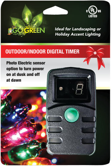 Gogreen Power Inc. - Outdoor Digital Timer