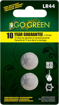 Gogreen Power Inc. - Button Battery For Electronics And Watches