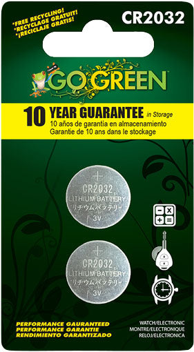 Gogreen Power Inc. - Lithium Battery For Electronics And Watches