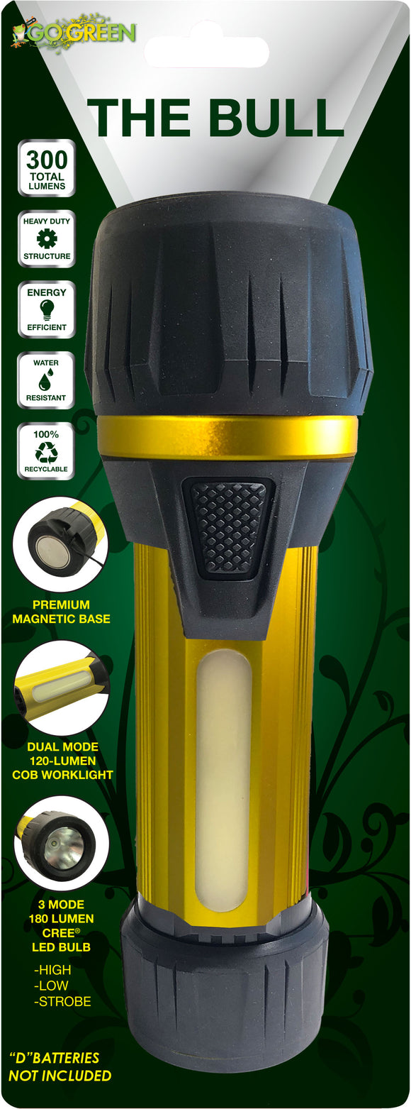 Gogreen Power Inc. - The Bull Flashlight