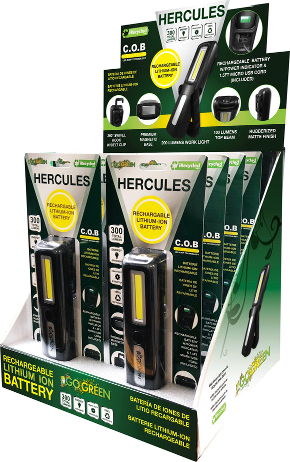 Gogreen Power Inc. - Hercules Cob Led Work Light Display