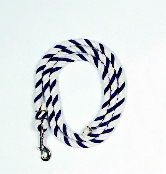 Beiler's Manufacturing - Cotton Lead Rope With Swivel Snap