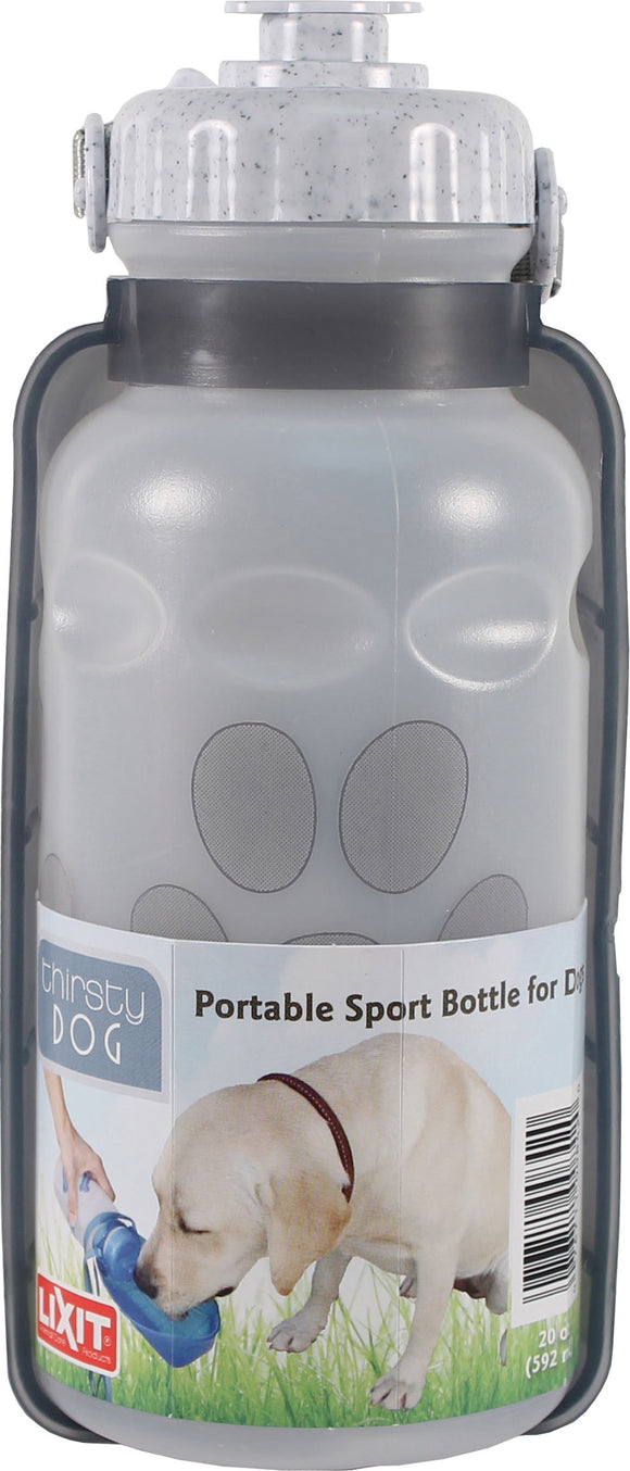 Lixit Corporation - Thirsty Dog Portable Sport Water Bottle/bowl