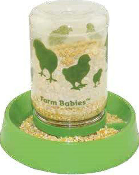 Lixit Corporation - Farm Babies Baby Chick Feeder-fount