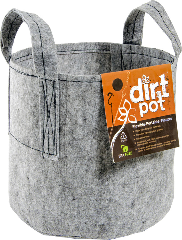 Hydrofarm Products - Hydrofarm Dirt Pot With Handle