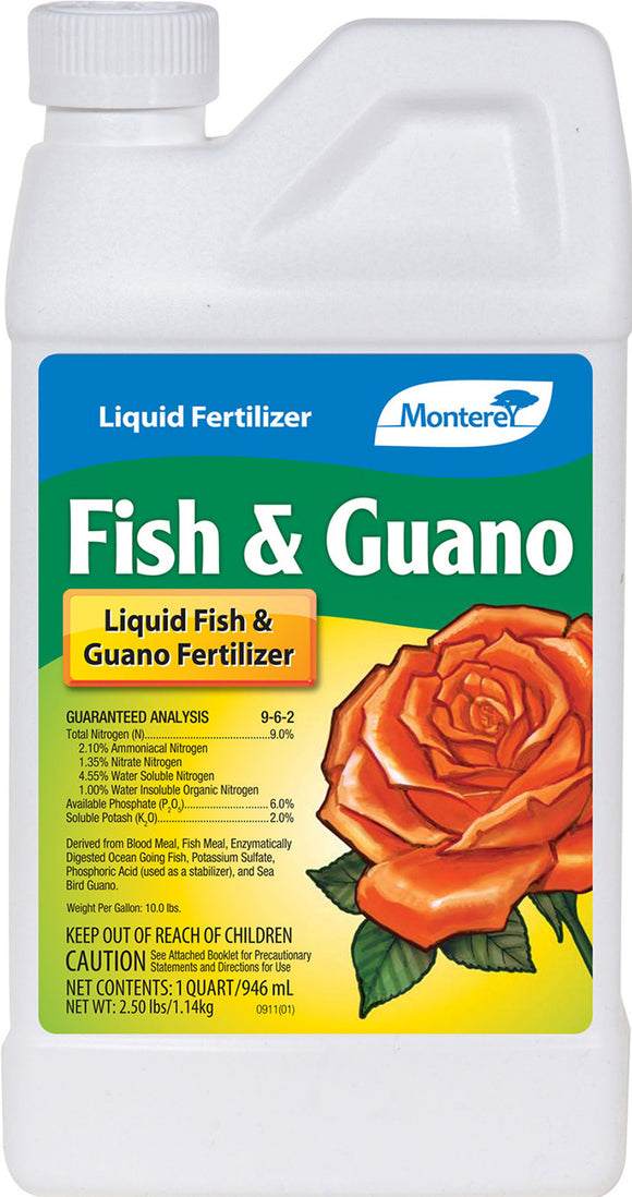 Monterey               P - Fish And Guano Plant Fertilizer