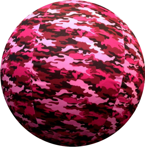 Horsemen's Pride Inc - Jolly Mega Ball Pink Camo Cover For Equine