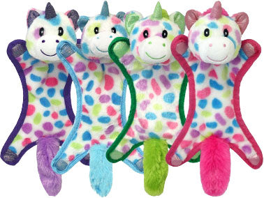 Multipet International - Cuddle Bunnies Unicorn Ball Head