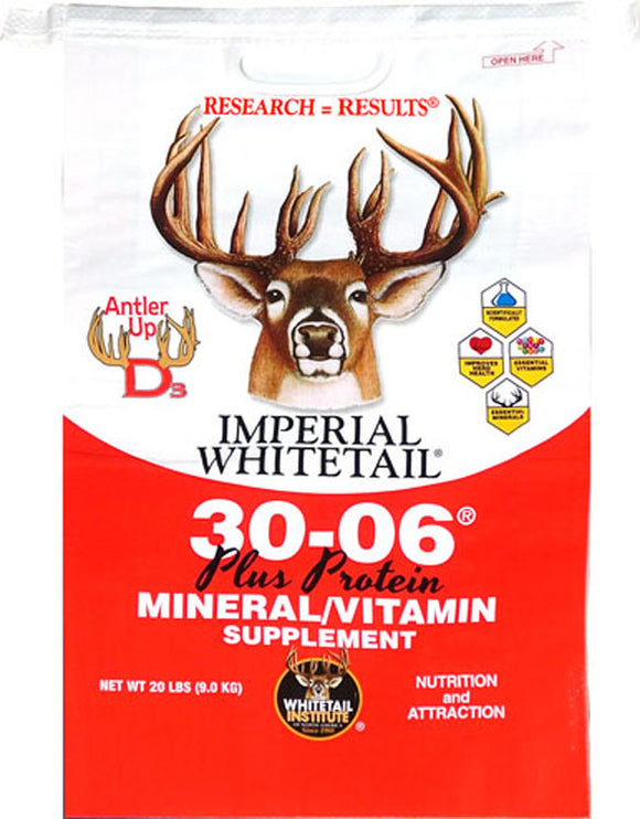 Whitetail Institute Of Na - Imperial Whitetail 30-06 Plus Protein