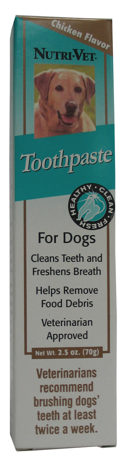 Nutri-vet Wellness Llc  D - Toothpaste For Dogs