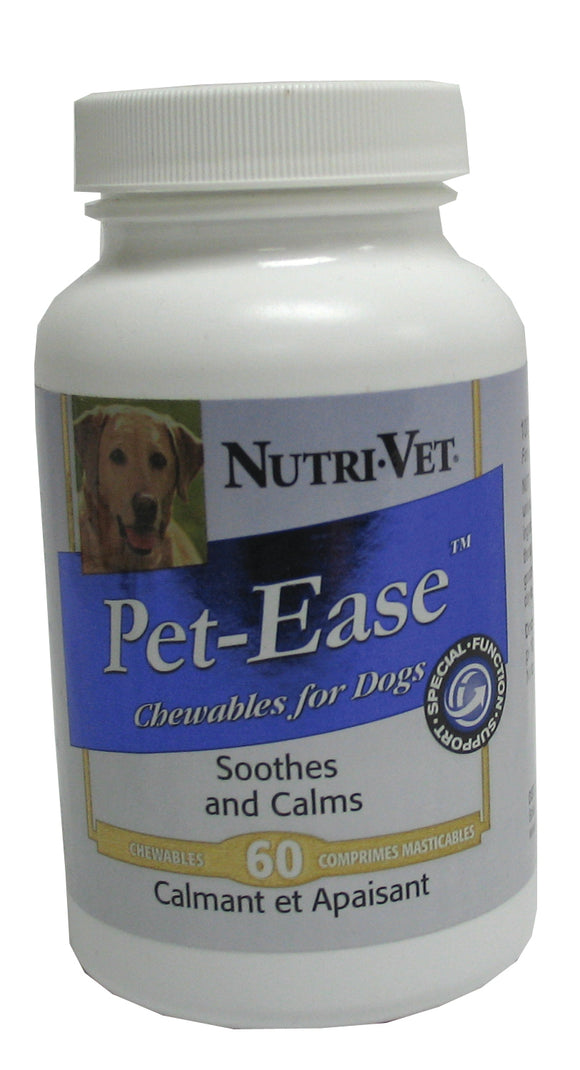 Nutri-vet Wellness Llc  D - Pet Ease Chewable